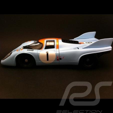 Porsche 917 K Le Mans 1971 Gulf n° 1 1/18 Norev 187582