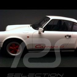 Porsche 911 3.2 Carrera Club Sport 1987 weiß 1/18 GT Spirit GT013ZM
