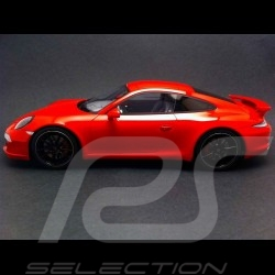 Porsche 991 Carrera S Aerokit Cup rouge 1/18 GT Spirit GT022