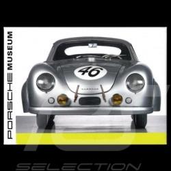 Plaque aimantée Porsche 356 SL Coupe Le mans 1951 magnet