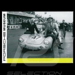Plaque aimantée Porsche 550 Spyder Le mans 1954