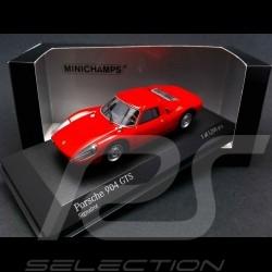 Porsche 904 GTS 1964 red 1/43 Minichamps 400065722