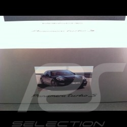 Porsche Panamera Turbo S 2014 bleue 1/18 Minichamps WAP0210120E