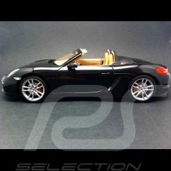Porsche Boxster S 981 2012 schwarz 1/18 Minichamps WAP0210160C