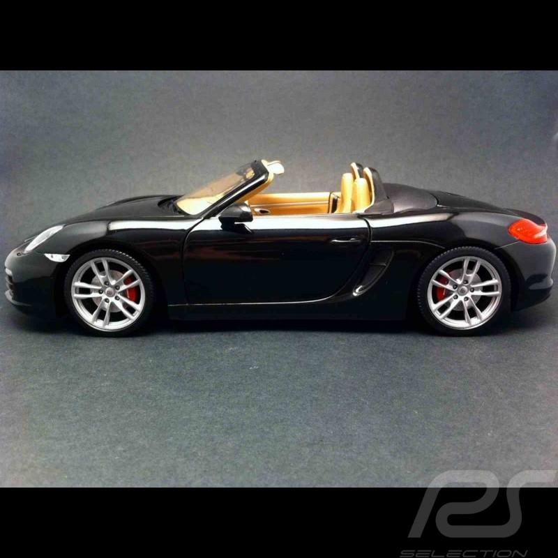 Porsche Boxster S 981 2012 black 1/18 Minichamps WAP0210160C