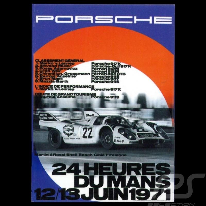 Magnet Porsche 917 Martini Le Mans 1971