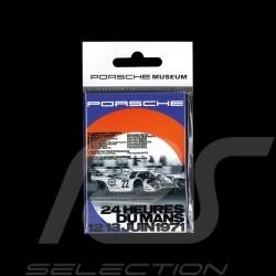 Plaque aimantée Porsche 917 Martini Le Mans 1971
