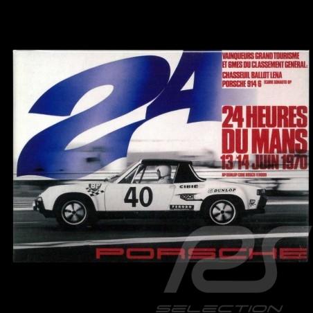 Magnet Porsche 914 Le Mans 1970