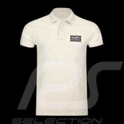 Polo homme Martini Racing Sportline crème