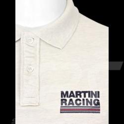 Polo homme Martini Racing Sportline crème