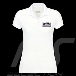 Polo Martini Racing Sportline blanc pour femme