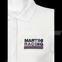 Polo femme Martini Racing Sportline blanc