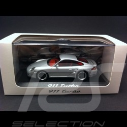 Porsche 997 Turbo phase II 2010 grau 1/43 Minichamps CAP04312006