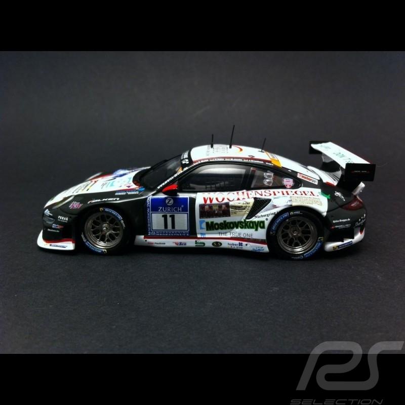 Porsche 997 GT3 RSR Nürburgring 2014 n° 11 1/43 Spark SAM257