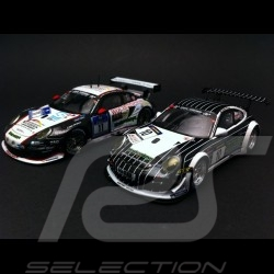 Duo Porsche 997 GT3 R / RSR Manthey Racing 1/43 Spark WAX20140011 / SAM257
