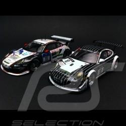 Duo Porsche 997 GT3 R / RSR Manthey Racing 1/43 Spark WAX20140011 / SAM257
