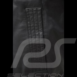 Leather jacket Porsche black Porsche Design WAP974 - men