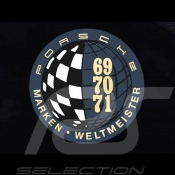 Aufkleber Porsche Marken Weltmeister Ø 9.8 cm