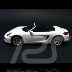 Porsche Boxster 981 2013 Carrara blanc 1/43 Minichamps WAP0202000D