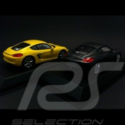 Duo Porsche Cayman / Cayman S 981 2013 1/43 Norev WAP0200300D / WAP0200310D