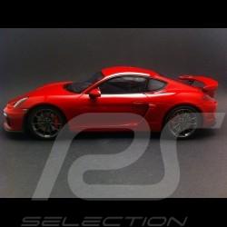 Porsche Cayman GT4 2015 karminrot 1/18 GT SPIRIT WAX02100007