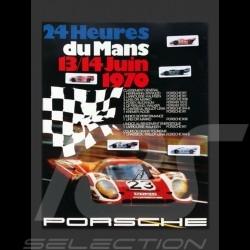 Tableau magnétique Porsche Le Mans 1970 avec 5 aimants Porsche Design WAP0500190F