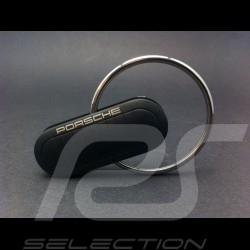 Metal key ring Porsche black Porsche design WAP0500070D