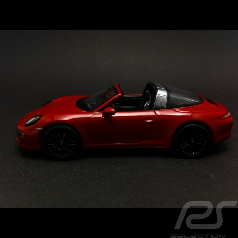 Porsche 991 Targa 4 GTS 2015 red 1/43 Schuco WAP0201450F