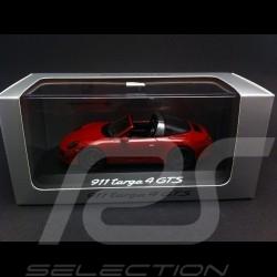 Porsche 991 Targa 4 GTS 2015 rouge 1/43 Schuco WAP0201450F
