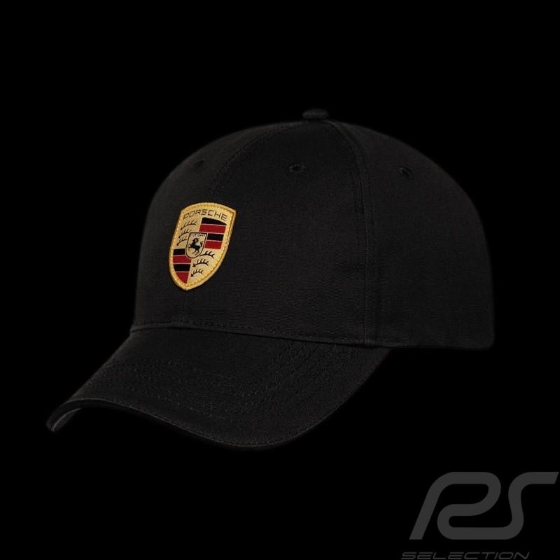 Casquette écusson Porsche noir Porsche WAP0800050C crest cap black Wappen Schwartz