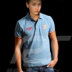Kinder Polo-shirt Gulf Klassische blau