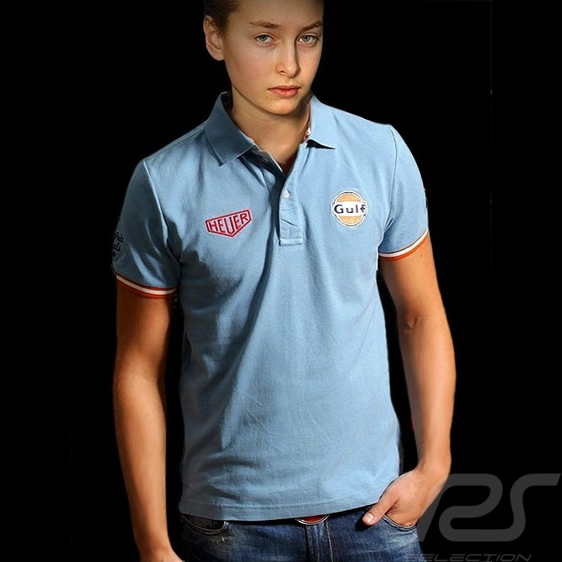 Polo enfant Gulf classique bleu kid kinder