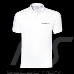 Polo homme Classic Porsche blanc Porsche Design WAP751 Men Polo shirt white Herren Weiß