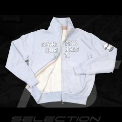 Veste Gulf zippée molleton gris pour homme fleece jacket zipper grey for men Jacke Reißverschluss grau für Herren