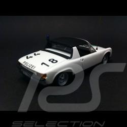 Porsche 914 - 4 Polizei 1971 blanche 1/43 Minichamps WAP020SET28