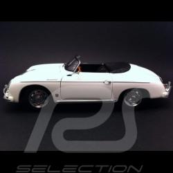 Porsche 356 A Speedster 1966 blanc 1/18 Autoart 77862