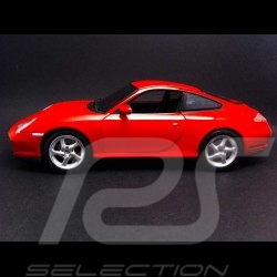Porsche 996 Carrera 4S rouge 1/18 Maisto 31628