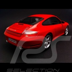 Porsche 996 Carrera 4S rot 1/18 Maisto 31628