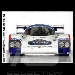 Plaque aimantée Porsche 956 1983