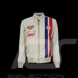 Blouson homme Gulf Steve McQueen beige Men jacket Herren Jacke