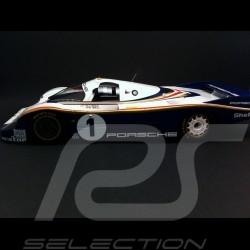 Porsche 956 Vainqueur Winner Sieger Le Mans 1982 n° 1 Rothmans 1/18 Spark 18LM82