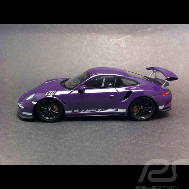 Porsche 991 GT3 RS 2016 viola 1/43 Spark S4929