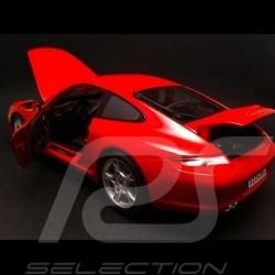 Porsche 997 Carrera S 2006 rot 1/18 Maisto 31692