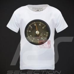 T-Shirt enfant Porsche Racer's Tach blanc