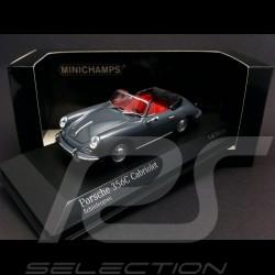 Porsche 356 C cabriolet 1965 Schiefergrau 1/43 Minichamps 430062339