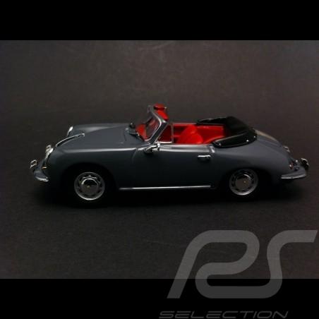 Porsche 356 C cabriolet 1965 gris ardoise 1/43 Minichamps 430062339