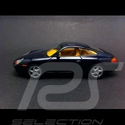 Porsche 996 Coupé 1998 bleu 1/43 Minichamps 400061180