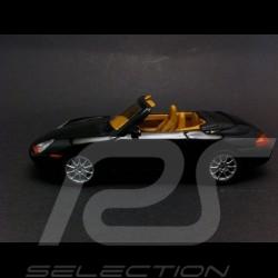 Porsche 996 Cabriolet 1998 noir 1/43 Minichamps 400061090