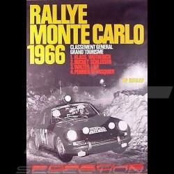 Porsche Poster Rallye Monte Carlo 1966