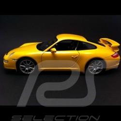 Porsche 997 GT3 gelb 1/18 Welly 18024